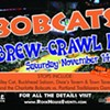 Tix available for Bobcats Brew-Crawl II
