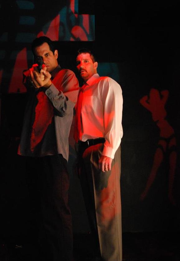 J.R. Adduci as Denny (left) and John C. Cunningham as Joey