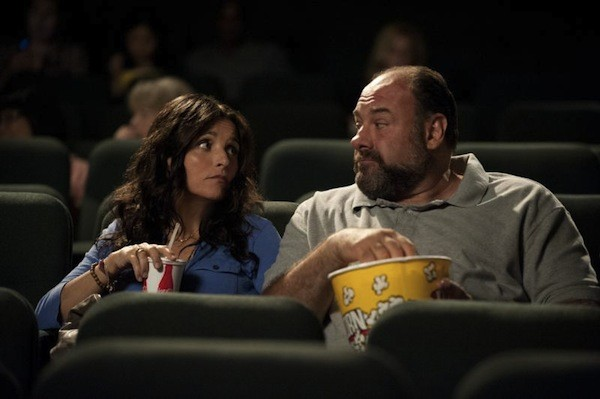 Julia Louis-Dreyfus and James Gandolfini in Enough Said (Photo: Fox)
