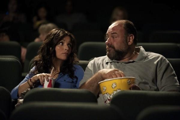 Julia Louis-Dreyfus and James Gandolfini in Enough Said (Photo: Fox)