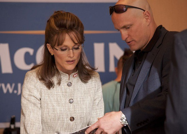 Julianne Moore and Woody Harrelson in Game Change (Photo: HBO Films)