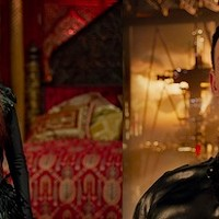 Julianne Moore in Seventh Son and Eddie Redmayne in Jupiter Ascending (Photos: Seventh: Universal / Jupiter: Warner)