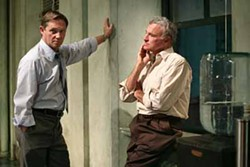 JOAN MARCUS - JURY DUTY: Richard Thomas and Kevin Dobson in Twelve Angry Men.