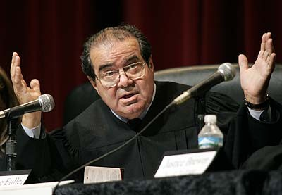 """Justice Antonin Scalia: """"Women's rights? Who cares?"""""""