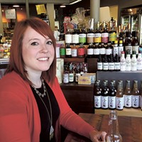 Kaitlin Krogh, Phyrefly co-founder and president, at Earl's Grocery