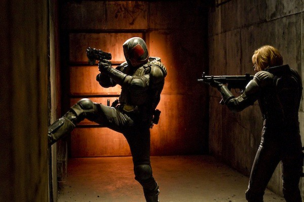 Karl Urban and Olivia Thirlby in Dredd (Photo: Lionsgate)