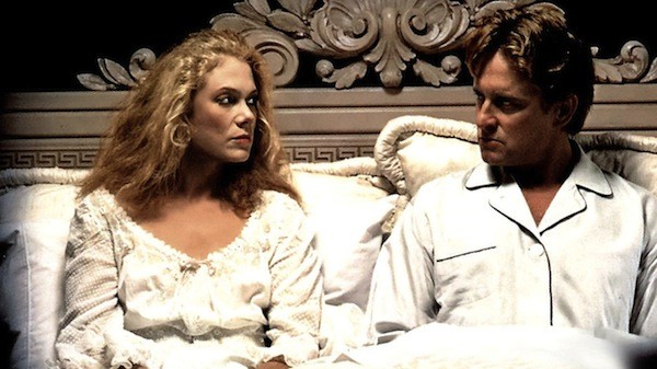 Kathleen Turner and Michael Douglas in The War of the Roses (Photo: Fox)