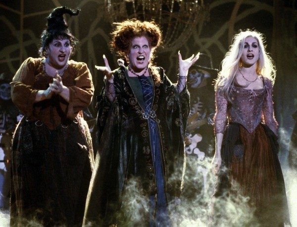Kathy Najimy, Bette Midler and Sarah Jessica Parker in Hocus Pocus (Photo: Disney)