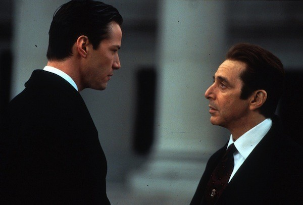 Keanu Reeves and Al Pacino in The Devil's Advocate (Photo: Warner Bros.)