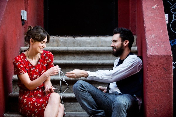 Keira Knightley and Adam Levine in Begin Again (Photo: Fox Searchlight)