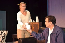 DAVIDSON COMMUNITY THEATRE - KINDRED SPIRITS: Marla Brown and Lou Dalessandro in The Guys