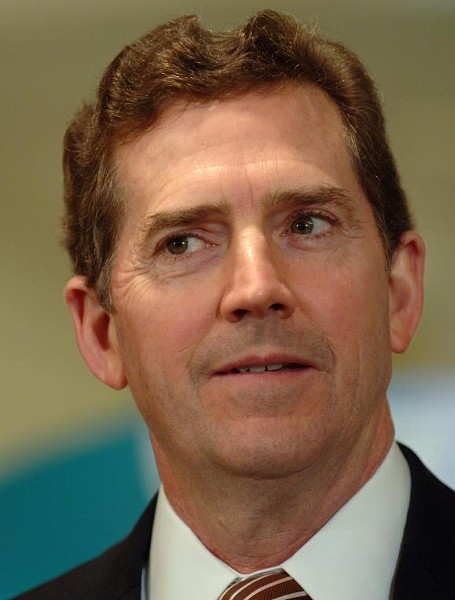 King Jim DeMint is seen here during a brown hair dye week