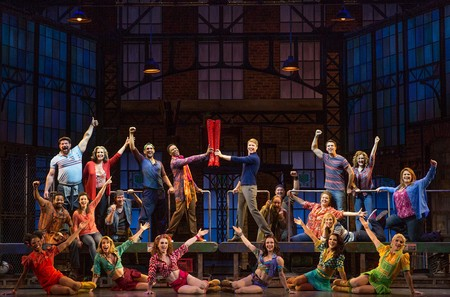 Kinky Boots at Belk Theater. Photo by Matthew Murphy.