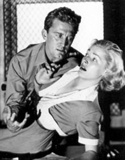 PARAMOUNT - Kirk Douglas and Eleanor Parker in Detective - Story