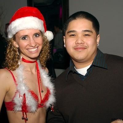 Sexy Santa at Kiss, 12/13/08