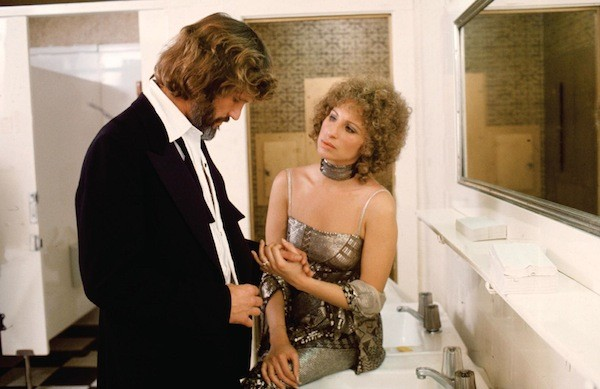 Kris Kristofferson and Barbra Streisand in A Star Is Born (Photo: Warner Bros)