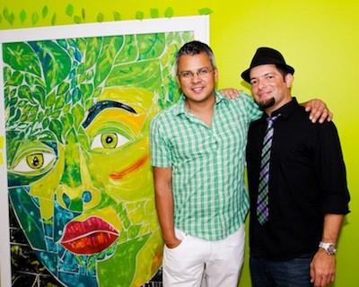 L-R: Edwin Gil and Franklin Castro