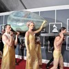 Who, what and wear at The Grammys
