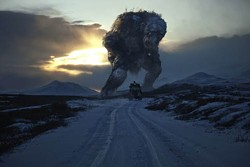 MAGNET - LARGER THAN ALL LIFE: The creature attacks in Trollhunter.