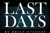 Book review: Brian Evenson's <em>Last Days</em>