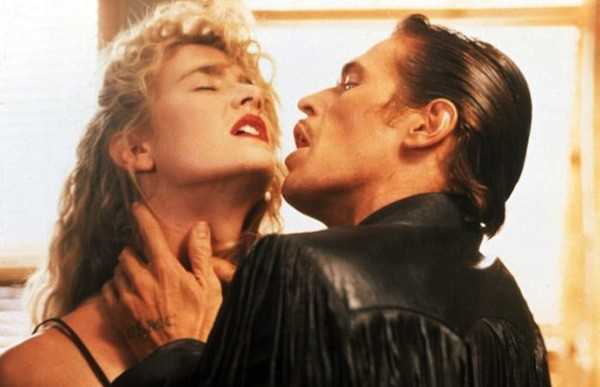 Laura Dern and Willem Dafoe in Wild at Heart (Photo: Twilight Time)