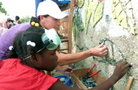 Staying 'True' to a cause: Laurel True presents community mosaics