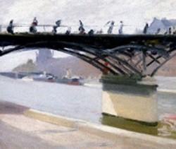 GEOFFREY CLEMENTS - Le Pont des Arts, 1907