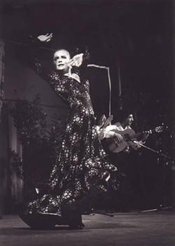 HERVE LEBLAY - Lead dancer Soledad Barrio heats things up when Noche Flamenca performs at Blumenthal PAC Feb. 1-4.