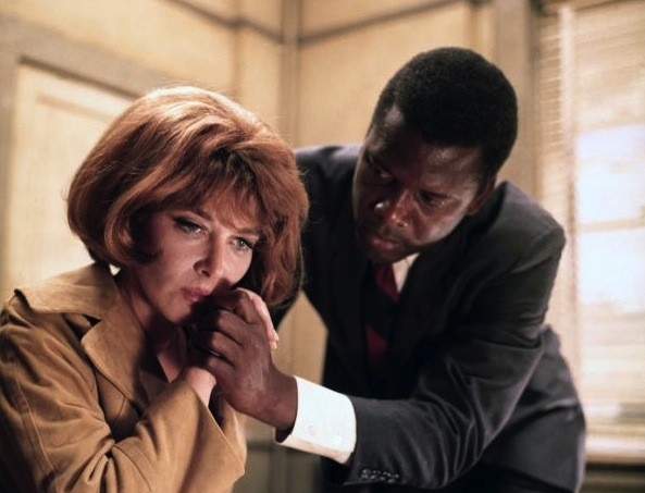 Lee Grant and Sidney Poitier in In the Heat of the Night (Photo: Fox)