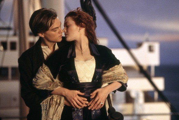 Leonardo DiCaprio and Kate Winslet in Titanic (Photo: Paramount & Fox)