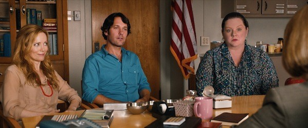 Leslie Mann, Paul Rudd and Melissa McCarthy in This Is 40 (Photo: Paramount)