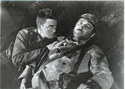 UNIVERSAL - Lew Ayres and Raymond Griffith in All Quiet On the Western Front