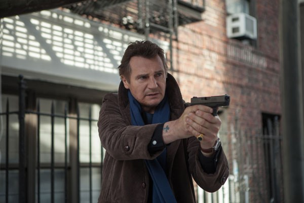Liam Neeson in A Walk Among the Tombstones - UNIVERSAL