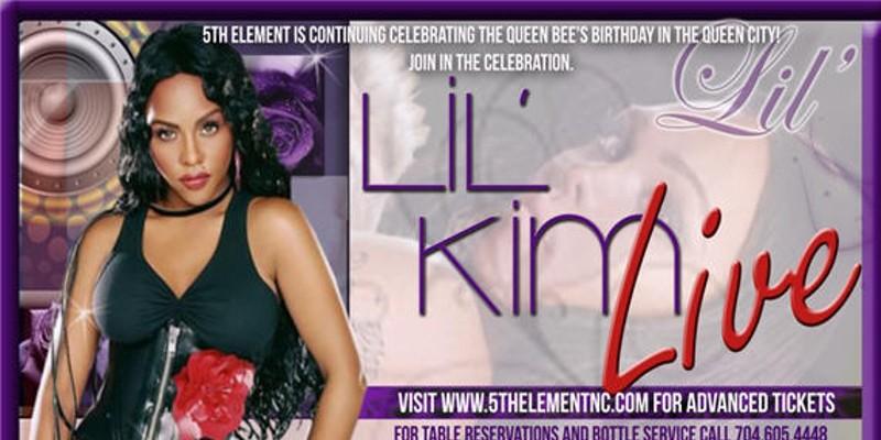 Lil' Kim returns to Charlotte