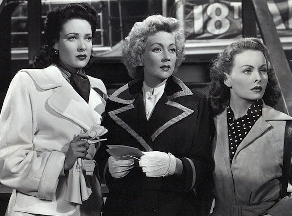 Linda Darnell, Ann Sothern and Jeanne Crain in A Letter to Three Wives (Photo: Fox)