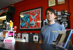LOCAL DEALER: Scott Wishart, owner of Lunchbox Records - KATIE WILLIAMS
