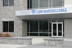 ILDAR SAGDEJEV/WIKIPEDIA - LOG JAMMERS: The Time Warner Cable building entrance in Morrisville, N.C.