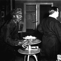 Lon Chaney Jr. and Lou Costello in Abbott and Costello Meet Frankenstein (Photo: Universal)