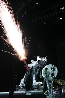Lordi (Ozzfest, Verizon Wireless Amphitheatre, Aug. 28)