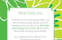 Lotus loves you