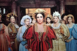 COLUMBIA - LOVELY LIZ: Elizabeth Taylor in The Taming of the Shrew