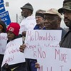 PHOTOS: McDonald's protest in Charlotte