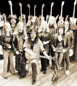 Lynyrd Skynyrd -- packed a poetic punch