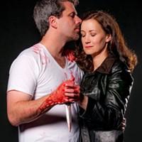 MAC THE KNIFE: Christian Casper and Gretchen McGinty as the murderous Macbeths