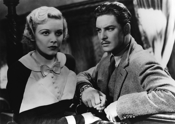 Madeleine Carroll and Robert Donat in The 39 Steps (Photo: Courtesy of the Criterion Collection)