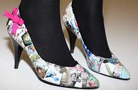 Make old shoes pretty again