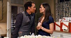 WARNER BROS. - MAKING HIS MOVE: Matthew McConaughey and Jennifer Garner in Ghosts of Girlfriends Past.