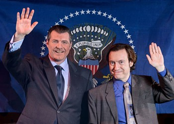 Hail to the chiefs in <i>Frost/Nixon</i>