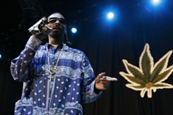 JEFF HAHNE - MALICE IN THE Q.C.: Snoop Dogg will perform at Amos' Southend on May 14.