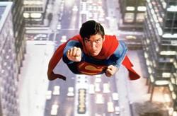 WARNER BROS. - MAN OF STEEL: Christopher Reeve as Superman